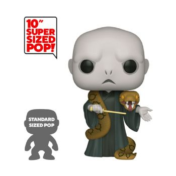 "Funko Pop! Vinyl Harry Potter 10"" Voldemort with Nagini Figure - Pre-order"